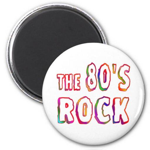 roca 80s imán para frigorifico