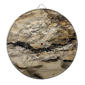 Roca abstracta tabla dardos