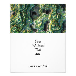 "roca acodada, (i) verde folleto 4.5"" x 5.6"""