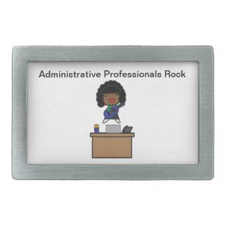 Roca administrativa de los profesionales (africano hebilla de cinturón rectangular