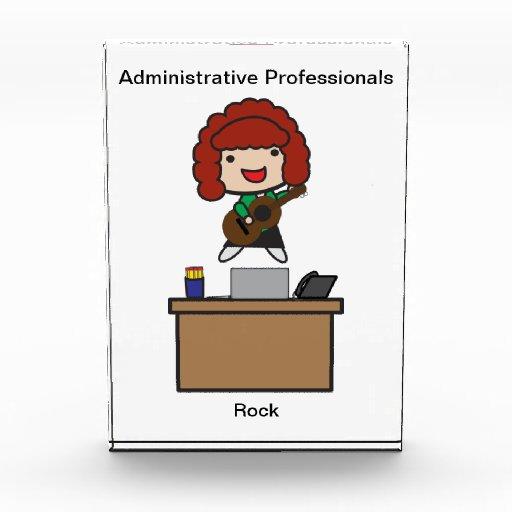Roca administrativa de los profesionales (pelirroj