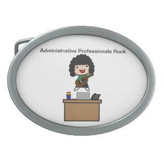 Roca administrativa de los profesionales (pelo osc hebillas de cinturón