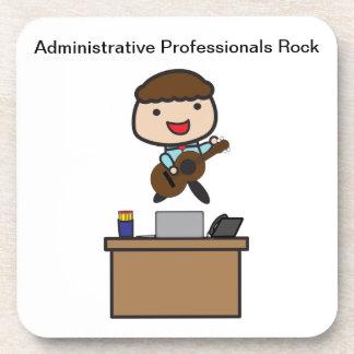 Roca administrativa de los profesionales (varón) posavasos