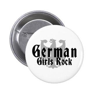 Roca alemana de los chicas pins