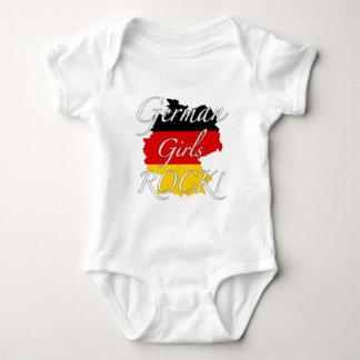 ¡Roca alemana de los chicas! Remeras