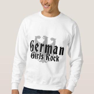 Roca alemana de los chicas sudadera