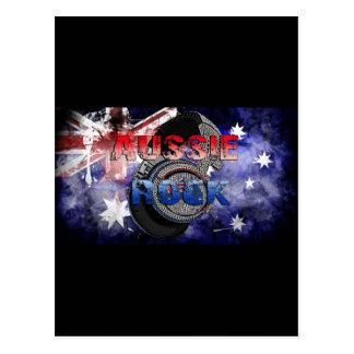 Roca australiana 2 tarjetas postales