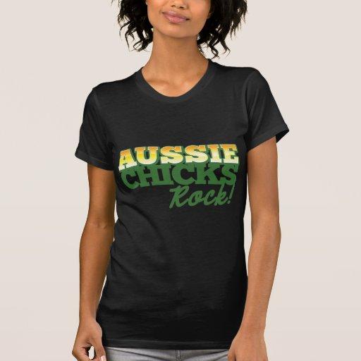 ¡ROCA australiana de los polluelos! Camiseta