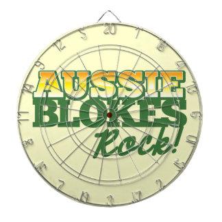 ¡Roca australiana de los tíos! Tablero Dardos