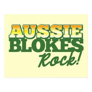 ¡Roca australiana de los tíos! Postal