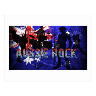 Roca australiana tarjetas postales