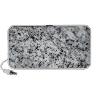 Roca blanco y negro del granito mp3 altavoz