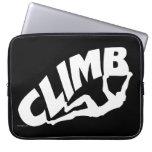 Roca Bouldering, subiendo Funda Ordendadores