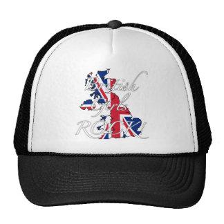 ¡Roca británica de los chicas! Gorro