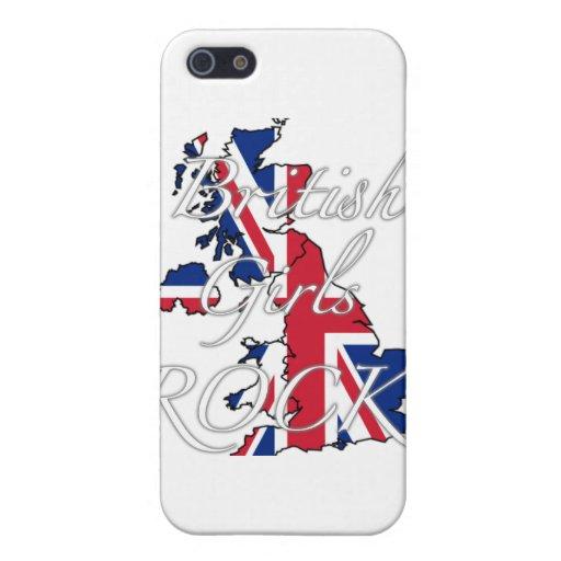 ¡Roca británica de los chicas! iPhone 5 Cárcasa