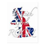 ¡Roca británica de los chicas! Tarjeta Postal