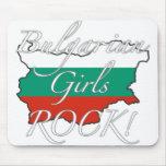¡Roca búlgara de los chicas! Alfombrillas De Ratones