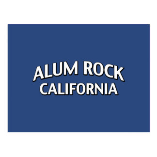 Roca California del alumbre Tarjeta Postal