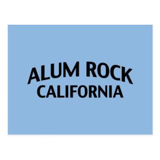 Roca California del alumbre Tarjetas Postales