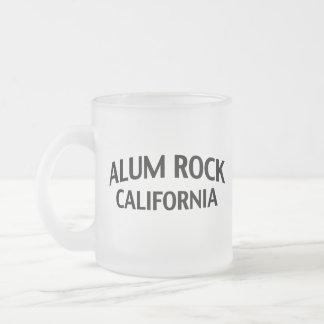 Roca California del alumbre Taza De Cristal