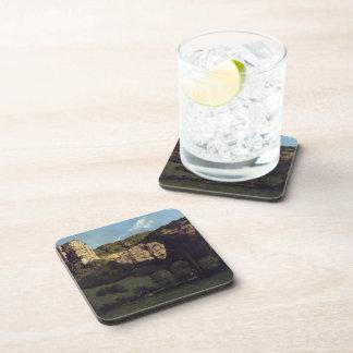 Roca calva del paisaje de Gustavo Courbet- Posavasos De Bebidas
