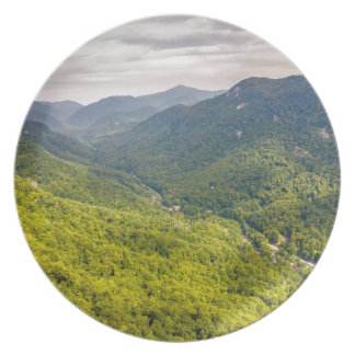 roca Carolina del Norte de la chimenea de la Platos