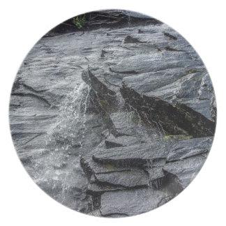 roca Carolina del Norte de la chimenea de las Plato