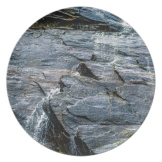 roca Carolina del Norte de la chimenea de las Plato De Comida
