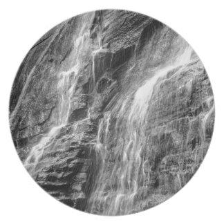 roca Carolina del Norte de la chimenea de las Platos