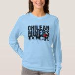 ¡Roca chilena de los mineros! Playera