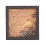 Roca coloreada moho del granito cajas de joyas de calidad