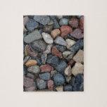 Roca colorida del río rompecabezas con fotos
