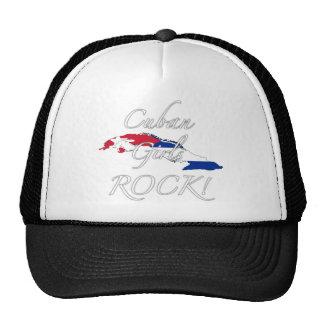 ¡Roca cubana de los chicas! Gorra