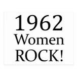 Roca de 1962 mujeres postal