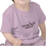 Roca de 1 año camiseta