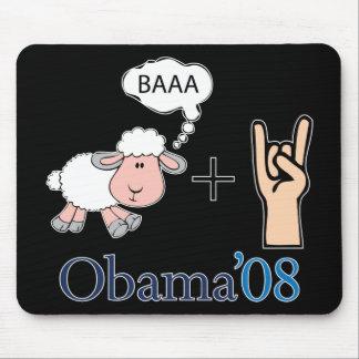 ¡Roca de Baaa! Obama Alfombrillas De Ratón
