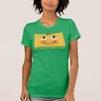 Roca de BBSS y la camiseta de las mujeres del Playera