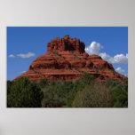 Roca de Bell en Sedona AZ 087 Póster