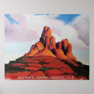 Roca de Bell, Sedona, Arizona, los E.E.U.U. Póster