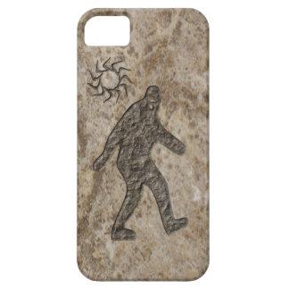 Roca de Bigfoot Funda Para iPhone 5 Barely There