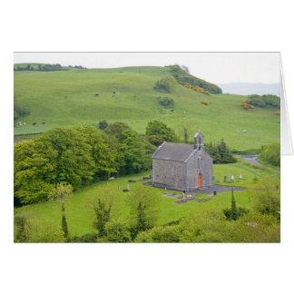 Roca de Dunamase, Irlanda. Vistas a y alrededor Tarjeta De Felicitación