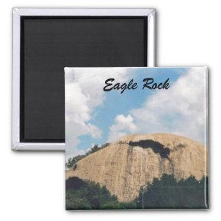 Roca de Eagle Imán Cuadrado