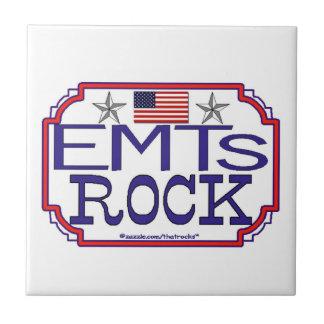 ¡Roca de EMTs Tejas Cerámicas