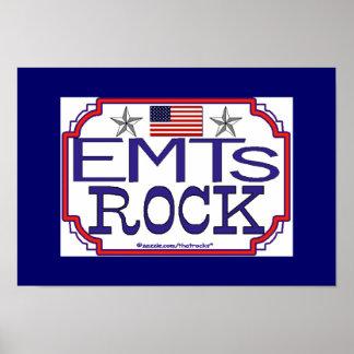 Roca de EMTs Impresiones