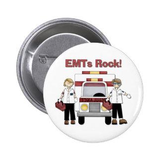 Roca de EMTs Pins