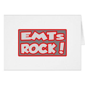 ¡Roca de EMTs Felicitaciones