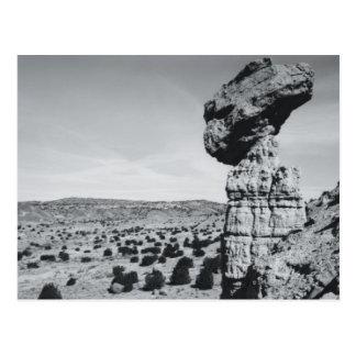 Roca de equilibrio, New México 2 Tarjetas Postales