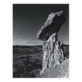 Roca de equilibrio, New México Tarjetas Postales