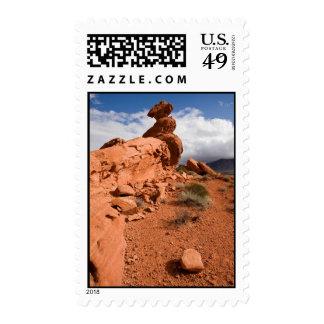 Roca de equilibrio sellos