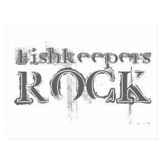 Roca de Fishkeepers Postales